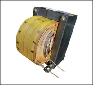 Single Phase Isolation Transformer, 0.6 KVA, 60 Hz, Primary: 210/220/230/240 VAC, Secondary: -14.9/0/14.9/3750 VAC, P/N 19074