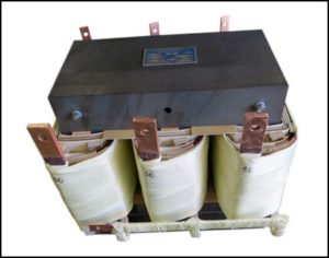 Three Phase Isolation Transformer, 15 KVA, 60 Hz, Primary: 480 VAC, Secondary: 60 VAC, P/N 19077