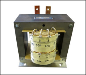SINGLE PHASE HIGH CURRENT TRANSFORMER, 3 KVA, OUTPUT 12 VAC, 250 AMPS, P/N 19078