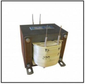 High Isolation Transformer, 0.44 KVA, 1 PH, 60 Hz, P/N 19098