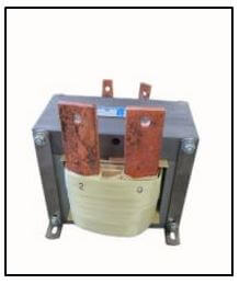 HIGH CURRENT TRANSFORMER, 1 KVA, Output: 2 VAC, 500 AMPS, P/N 19173