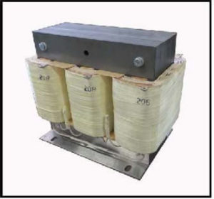 Isolation Transformer, 3 KVA, 3 PH, 60 Hz, Primary: 208 VAC L-L, Secondary: 330 VAC L-L, P/N 19218