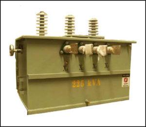 Pad Mount Oil Filled Transformer, 225 KVA Primary: 12470 / 7200 VAC, Secondary: 208 / 120 VAC, P/N 6280L