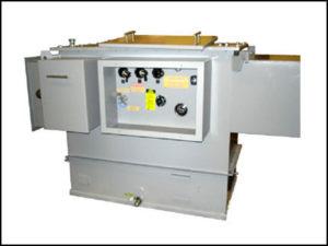 Oil Filled Transformer, 500 KVA, Primary: 13200/23000/34500 VAC, Delta, Secondary: 220/127 VAC, Wye, P/N 6281L