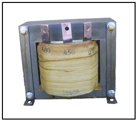 BUCK TRANSFORMER, 10 KVA, INPUT 480 VAC, OUTPUT 450 VAC, P/N 18606N