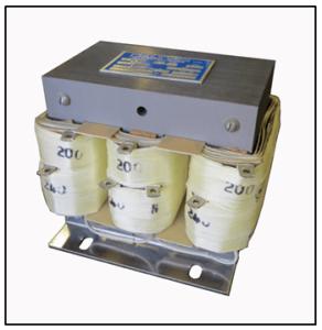 BOOST TRANSFORMER, 2.1 KVA, INPUT 200 VAC, OUTPUT 240 VAC, P/N 19205N
