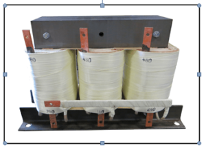 THREE PHASE BOOST TRANSFORMER, 25 KVA, INPUT 240 VAC, OUTPUT 480 VAC, PN 19018N