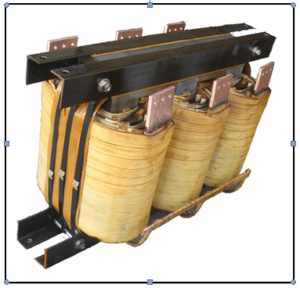 THREE PHASE BOOST TRANSFORMER, 450 KVA, INPUT 480 VAC, OUTPUT 600 VAC, PN 18596N