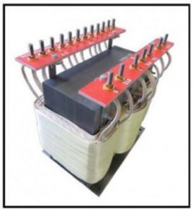 HEATING ELEMENT TRANSFORMER, 13.5 KVA, 3 PH, 50/60 Hz, P/N 17558