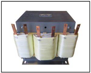 HEATING ELEMENT TRANSFORMER, 36 KVA, 3 PH, 50 Hz, P/N 19101