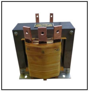CENTER TAP TRANSFORMER, 6 KVA, PRIMARY 230 VAC, SECONDARY -20/0/20 VAC, P/N 19133