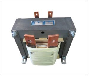 Transformer, 2 KVA, 1 PH, 60 Hz, Primary: 115 VAC, Secondary: 20 VAC, P/N 19084
