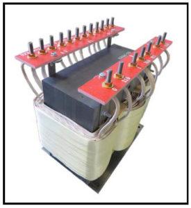HEATING ELEMENT TRANSFORMER, 15.5 KVA, 3 PH, 50/60 Hz, P/N 17784