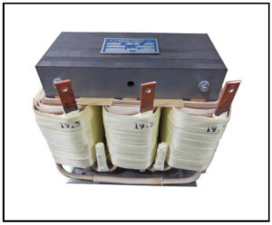 THREE PHASE MULTI TAP TRANSFORMER, 3 KVA, P/N 18371
