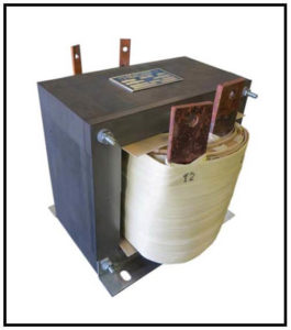 HIGH CURRENT TRANSFORMER, 4.8 KVA, Output: 12 VAC, 400 AMPS, P/N 18547A