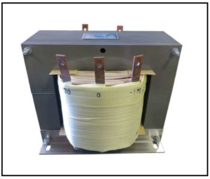 CENTER TAP TRANSFORMER, 12.5 KVA, PRIMARY 380 VAC, SECONDARY -120/0/120 VAC, P/N 18684B