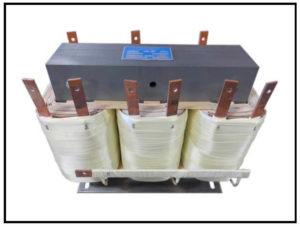 Three Phase Multi Tap Transformer, 10 KVA, 480 VAC Wye with a neutral, Output: 90 VAC, P/N 18689