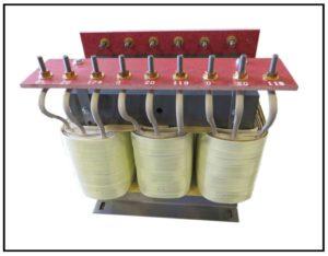 HEATING ELEMENT TRANSFORMER, 21 KVA, 3 PH, 60 Hz, P/N 18770B