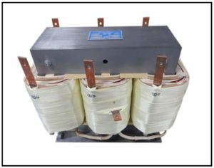 Isolation Transformer, 20 KVA, 3 PH, 60 Hz, Primary: 480 VAC L-L, Secondary: 208 VAC L-L, P/N 18980