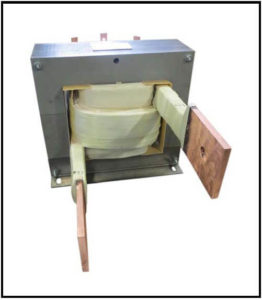 HIGH CURRENT TRANSFORMER, 10 KVA, Output: 10 VAC, 1000 Amps P/N 19082