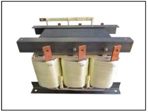 Transformer, 30 KVA, 3 PH, 60 Hz, Primary: 240 VAC L-L, Secondary: 600 VAC L-L, P/N 19088N