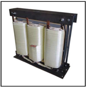 Isolation Transformer, 225 KVA, 3 PH, 60 Hz, Primary: 480 VAC L-L, Secondary: 400 VAC L-L, P/N 19089