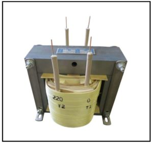 10 KV Isolation Transformer, 0.44 KVA, 1 PH, 60 Hz, P/N 19098A