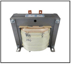ISOLATION TRANSFORMER, 1.4 KVA, 400 Hz, P/N 19103