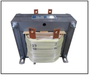 ISOLATION TRANSFORMER, 4 KVA, 400 Hz, P/N 19105