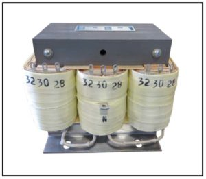 THREE PHASE ISOLATION TRANSFORMER, 0.075 KVA, P/N 19132