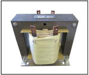 Isolation Transformer, 3 KVA, 1 PH, 60 Hz, Primary: 120 VAC, Secondary: 60 VAC, P/N 19137