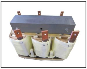 Isolation Transformer, 3 KVA, 3 PH, 60 Hz, Primary: 230 VAC L-L, Secondary: 11.5 V AC L-L, P/N 19139