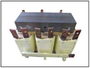 Isolation Transformer, 7 KVA, 3 PH, 60 Hz, Primary: 240 VAC, Secondary: 22 VAC, P/N 19140