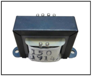 ISOLATION TRANSFORMER, 0.5 VA, 400 Hz, P/N 19143
