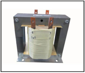 Isolation Transformer, 2.4 KVA, 1 PH, 50/60 Hz, Primary: 240 VAC, Secondary: 240 VAC, P/N 19155