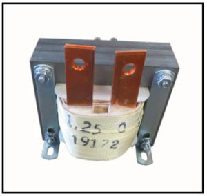 Isolation Transformer, 50 VA, 1 PH, 60 Hz, Primary: 12 VAC, Secondary: 1.25 VAC, P/N 19172