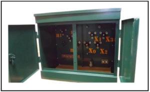 Pad Mounted Oil Filled Transformer, 500 KVA, Primary: 15000 VAC, Delta, Secondary: 480/277 VAC L-N, P/N 6896L