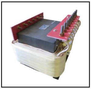 HEATING ELEMENT TRANSFORMER, 48 KVA, 3 PH, 50 Hz, P/N 19108