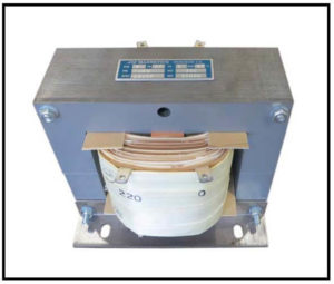 Isolation Transformer, 1 KVA, 1 PH, 60 Hz, Primary: 240 VAC, Secondary: 220 VAC, P/N 19130