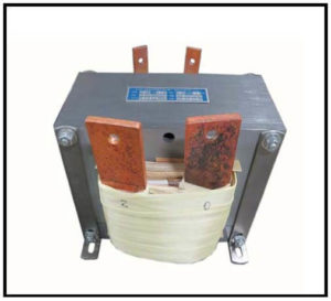 HIGH CURRENT TRANSFORMER, 1 KVA, Output: 2 VAC, 500 AMPS, P/N 19171