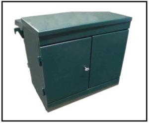 Oil Filled Transformer, 25 KVA, Primary: 480 VAC, Delta, Secondary: 208/20 VAC L-N, Wye, P/N 6642L