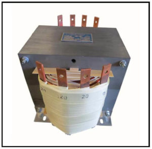 SINGLE PHASE MULTI TAP TRANSFORMER, 12.5 KVA, P/N 15447XA