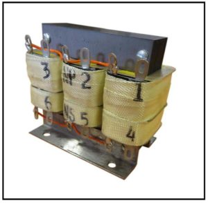 ISOLATION TRANSFORMER, 45 VA, 400 Hz, P/N 19095L