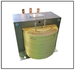 High Voltage Isolation Transformer, 1.5 KVA, 1 PH, 60 Hz, P/N 19102
