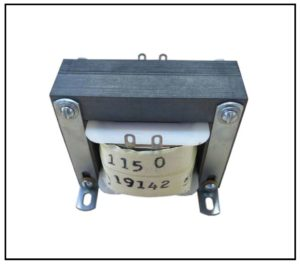 ISOLATION TRANSFORMER, 100 VA, 400 Hz, P/N 19142