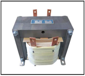 Isolation Transformer, 2.52 KVA, 1 PH, 60 Hz, Primary: 120 VAC, Secondary: 120 VAC, P/N 19154