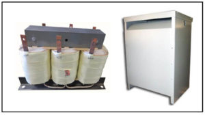 ISOLATION TRANSFORMER, 10.35 KVA, 400 Hz, P/N 19156N
