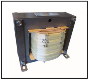 ISOLATION TRANSFORMER, 1 KVA, 400 Hz, P/N 19163