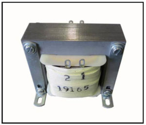 ISOLATION TRANSFORMER, 100 VA, 400 Hz, P/N 19165