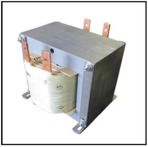 Isolation Transformer, 2 KVA, 1 PH, 60 Hz, Primary: 100 VAC, Secondary: 230 VAC, P/N 19182